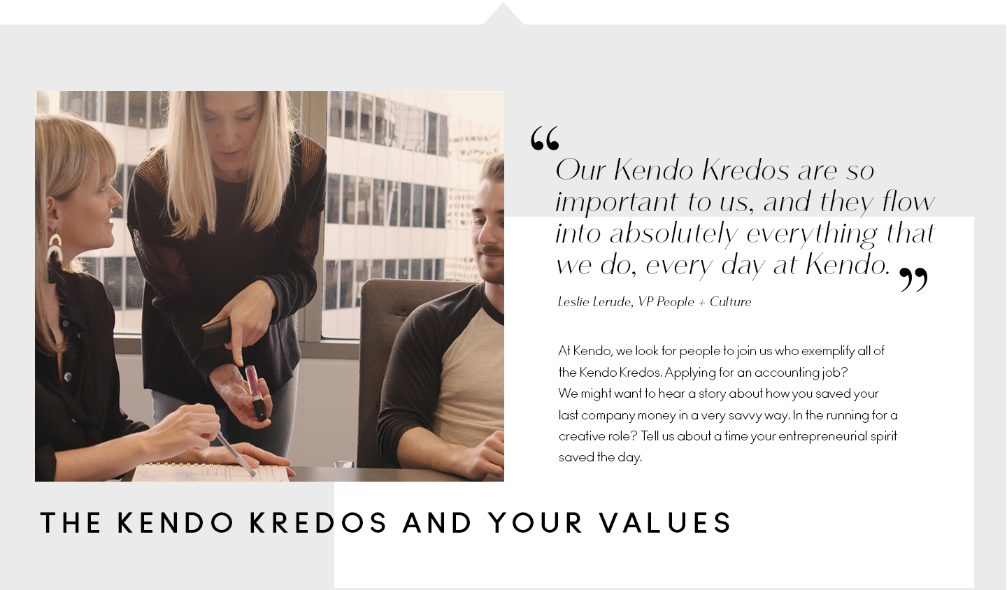 kendo brands careers