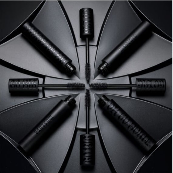 KVD GO BIG OR GO HOME MASCARA LONG WEAR & EXTREME VOLUME POWDERED BY PLANY-BASED FATS